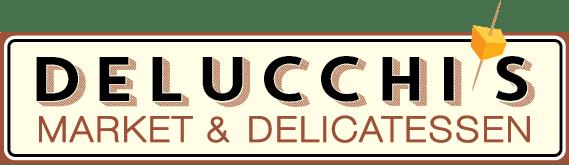 A theme logo of Delucchi's Market